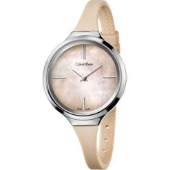 ZEGAREK CALVIN KLEIN LIVELY K4U231XE. Białe zegarki damskie Calvin Klein, szklane. Za 779,00 zł.
