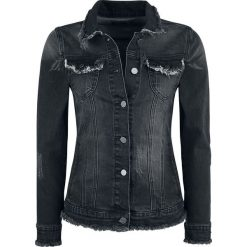 Black Premium by EMP Used Denim Kurtka damska czarny. Czarne kurtki damskie jeansowe marki Black Premium by EMP, xl. Za 184,90 zł.