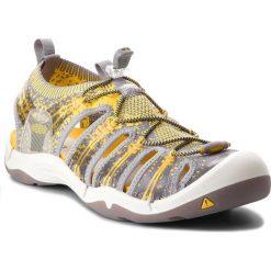 Sandały KEEN - Evofit One 1018909 Gray/Yellow. Szare sandały męskie marki Keen, z materiału. W wyprzedaży za 359,00 zł.