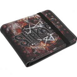 Slipknot Shatter Portfel czarny. Czarne portfele męskie marki Slipknot, m, z nadrukiem, z kapturem. Za 62,90 zł.