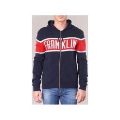 Swetry rozpinane / Kardigany Franklin   Marshall  GROMA. Niebieskie kardigany męskie marki Franklin Marshall, m. Za 455,20 zł.