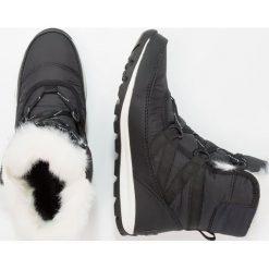 Sorel WITHNEY SHORT LACE Botki sznurowane black. Czarne buty zimowe damskie marki Sorel, z materiału. Za 529,00 zł.