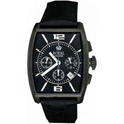 Zegarek Royal London Męski 41107-06 Classic Chrono. Czarne zegarki męskie Royal London. Za 509,00 zł.