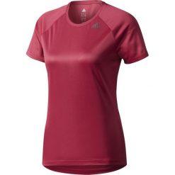 Bluzki asymetryczne: Adidas Koszulka damska D2M Tee Lose czerwona r. S (BQ5848)