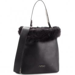 Torebka NOBO - NBAG-F1520-C020  Czarny. Czarne torebki klasyczne damskie marki Nobo, z materiału. W wyprzedaży za 149,00 zł.