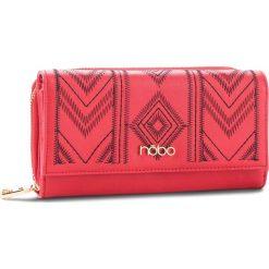 Duży Portfel Damski NOBO - NPUR-0550-C005 Czerwony. Czerwone portfele damskie Nobo, ze skóry ekologicznej. W wyprzedaży za 99,00 zł.