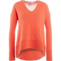Swetry klasyczne damskie: FTC Cashmere Sweter vibrant orange