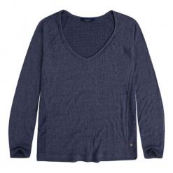 Koszulka w kolorze granatowym. Niebieskie bluzki damskie Pepe Jeans, xxs, z długim rękawem. W wyprzedaży za 109,95 zł.