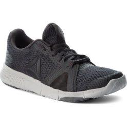 Buty Reebok - Flexile CN1027 Coal/Blk/Skull Grey/Alloy. Szare buty do fitnessu damskie marki Reebok, z materiału. W wyprzedaży za 189,00 zł.