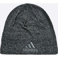 Adidas Performance - Czapka. Szare czapki zimowe męskie adidas Performance, z dzianiny. W wyprzedaży za 49,90 zł.