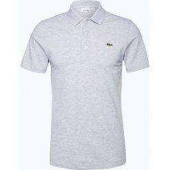 Lacoste - Męska koszulka polo, szary. Szare koszulki polo marki Lacoste, z bawełny. Za 349,95 zł.