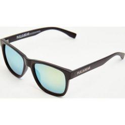 Okulary przeciwsłoneczne męskie aviatory: Okulary przeciwsłoneczne z żółtymi szkłami