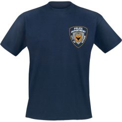 Batman The Dark Knight - Gotham City Police Department T-Shirt niebieski. Czarne t-shirty męskie marki Caliban, s. Za 79,90 zł.