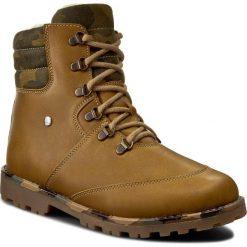Buty zimowe chłopięce: Trapery BARTEK – 97403-D01 Żółty