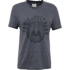 T-shirty męskie: Zadig & Voltaire OSLO BLASON Tshirt z nadrukiem anthracite