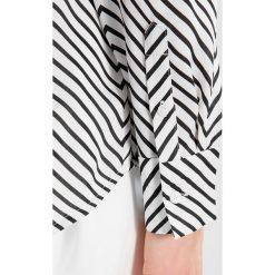 Koszule wiązane damskie: Banana Republic SOFT DILLON ZIG ZAG PRINT Koszula white