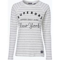 Bluzy damskie: Superdry – Damska bluza nierozpinana, szary