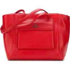 Torebka damska 87-4E-200-3. Czerwone shopper bag damskie Wittchen, z materiału. Za 459,00 zł.