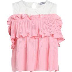 Bluzki asymetryczne: Navy London AMY Bluzka rose