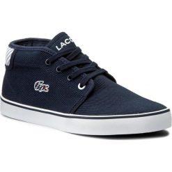 Trampki chłopięce: Sneakersy LACOSTE - Ampthill 117 1 7-33CAJ1000003 Nvy