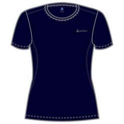 Odlo Koszulka damska Catherine Crew Neck granatowa r. M (200841). Niebieskie topy sportowe damskie marki Odlo, m. Za 58,55 zł.