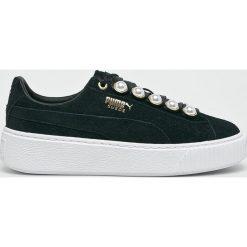 Puma - Buty Platform Bling. Szare buty sportowe damskie marki Puma, z gumy. W wyprzedaży za 469,90 zł.
