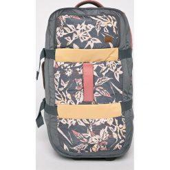 Roxy - Walizka. Szare walizki marki Roxy, z materiału. Za 599,90 zł.