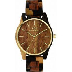 Zegarek Giacomo Design Drewniany damski GD08205. Brązowe zegarki damskie Giacomo Design. Za 415,00 zł.