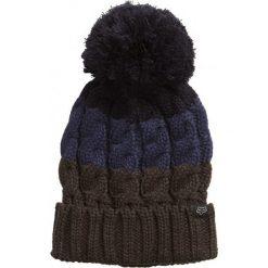 FOX Czapka Damska Ciemnoniebieski Valence. Szare czapki zimowe damskie marki FOX, z bawełny. W wyprzedaży za 90,00 zł.