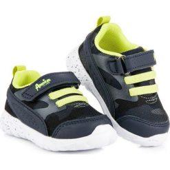 Buciki niemowlęce: Lekkie buty american American Club niebieskie
