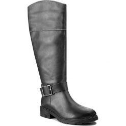 Oficerki JENNY FAIRY - WS17375-21 Szary Ciemny. Szare buty zimowe damskie marki Jenny Fairy, ze skóry ekologicznej. Za 149,99 zł.