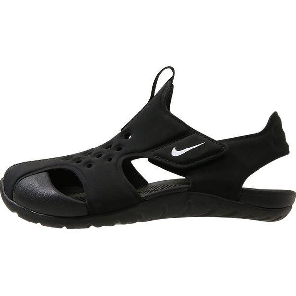c5f854b1 Nike Performance SUNRAY PROTECT 2 Sandały kąpielowe black/white ...