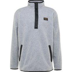 Burton HEARTH  Bluza z polaru gray heather. Szare bluzy męskie rozpinane Burton, m, z materiału. Za 459,00 zł.