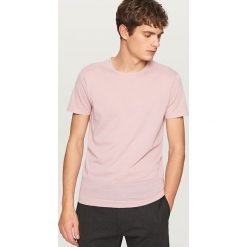 T-shirty męskie: T-shirt z lekkiej dzianiny – Różowy