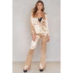 Spodnie damskie: The Jetset Diaries Spodnie Mirabella - Gold