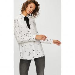 Medicine - Koszula Basic. Szare koszule damskie MEDICINE, m, z tkaniny, casualowe, z klasycznym kołnierzykiem, z długim rękawem. Za 69,90 zł.