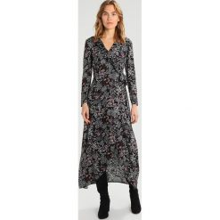 Długie sukienki: 12 Midnight FRILL FRONT Długa sukienka purple/black