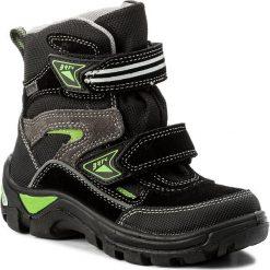Buty zimowe chłopięce: Śniegowce BARTEK – 24673-P8 Czarny Kiwi