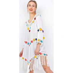 Odzież damska: Tunika z kolorowymi kwiatami