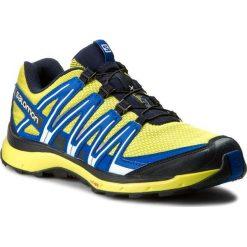 Buty SALOMON - Xa Lite 394716 27 V0 Sulphur Spring/Navy Blazer/Nautical Blue. Żółte buty do biegania męskie Salomon, z materiału, na sznurówki. W wyprzedaży za 309,00 zł.
