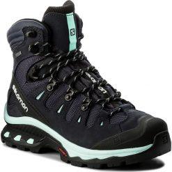 Trekkingi SALOMON - Quest 4D 3 Gtx W GORE-TEX 401570 20 G0 Graphite/Night Sky/Beach Glass. Czarne buty trekkingowe damskie marki Salomon, z gore-texu, na sznurówki, outdoorowe, gore-tex. W wyprzedaży za 579,00 zł.