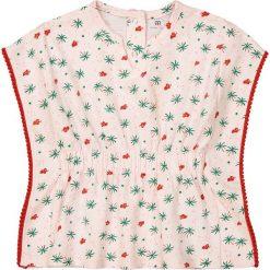 Bluzki dziewczęce: Koszulka z okrągłym dekoltem i nadrukiem Oeko Tex 1 m-c – 3 lata