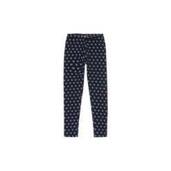 Legginsy dziewczęce. Niebieskie legginsy dziewczęce marki KIPSTA, z elastanu. Za 14,99 zł.