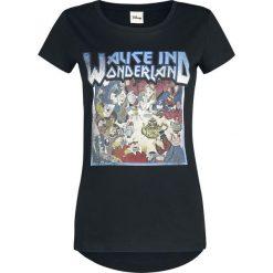 Alicja w Krainie Czarów Tour 1865 Koszulka damska czarny. Czarne bluzki z odkrytymi ramionami Alicja w Krainie Czarów, l, z nadrukiem, z okrągłym kołnierzem, z krótkim rękawem. Za 62,90 zł.