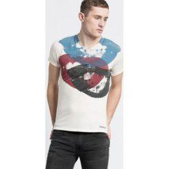 T-shirty męskie z nadrukiem: Andy Warhol by Pepe Jeans – T-shirt Smile
