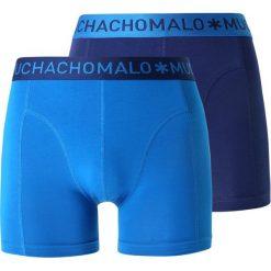 MUCHACHOMALO MEN SHORT SOLID 2 PACK  Panty dark blue. Niebieskie bokserki męskie MUCHACHOMALO, z bawełny. Za 169,00 zł.