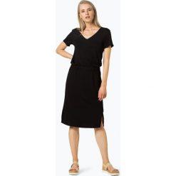 Marc O'Polo - Sukienka damska, czarny. Czarne sukienki hiszpanki Marc O'Polo, w paski, polo, midi. Za 569,95 zł.