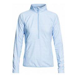 Roxy Bluza Damska Cascade J Otlr bgb3 Powder Blue Indie Stripes Embo L. Białe bluzy sportowe damskie marki Roxy, l, z nadrukiem, z materiału. Za 199,00 zł.
