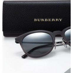 Burberry Okulary przeciwsłoneczne grey. Czarne okulary przeciwsłoneczne damskie lenonki marki Burberry. Za 899,00 zł.