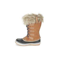 Śniegowce Sorel  JOAN OF ARCTIC. Brązowe buty zimowe damskie Sorel. Za 591,20 zł.